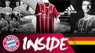 Stolze Vergangenheit. Starke Zukunft. Das neue Home-Trikot 2017/18   Inside FC Bayern