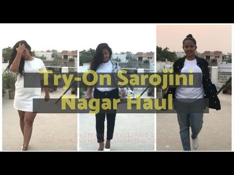 "Latest Sarojini Nagar ""Try-On"" Haul - 15 Outfits, 17 Items (May2018)"
