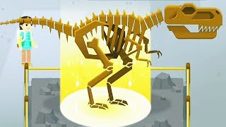 Dino Dana - Dino Exhibit (12 Skeletons) | Eftsei Gaming