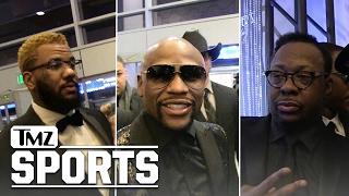 FLOYD MAYWEATHER -- 40TH BIRTHDAY BASH...Features Mariah and Bieber | TMZ Sports