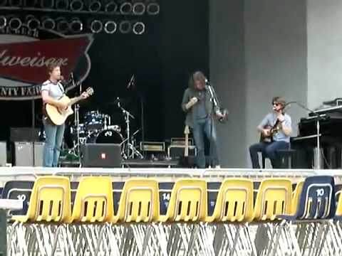 Hanson Two Tears 2011 Soundcheck