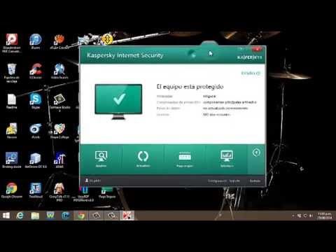 Como descargar antivirus kaspersky full en español con licencia de dos años 100% Funciona!!!