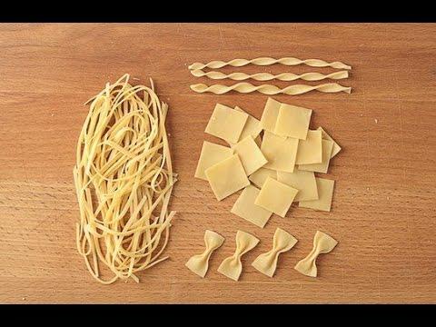 Как сделать пасту по домашнему 2