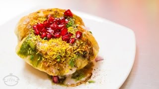 Puri Chaat - Easy Indian Snack Recipes | Diwali 2015 Recipes