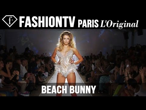 Beach Bunny Swimwear Ft The Blonds | Miami Swim Fashion Week Summer 2015 | Bikini Models | Fashiontv video