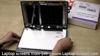 Laptop screen replacement, LCD screen replacement guide [ACER Aspire 5534]