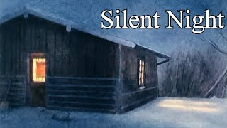 Silent Night - Christmas Hymns / a Capella Harmony Vocal ( lyrics in description )