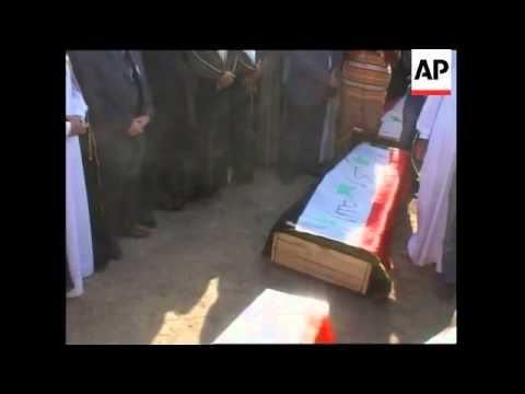 Funeral of assassinated Sunni leader who led revolt against al-Qaida in Iraq