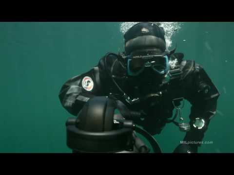 Special Forces Combat Diver with DPV