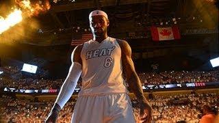 LeBron James wins KIA 2012-2013 NBA MVP Award!