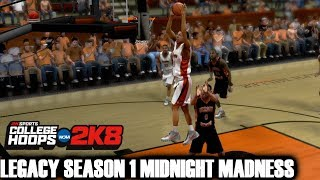 COLLEGE HOOPS 2K8 - MIDNIGHT MADNESS OREGON STATE STYLE