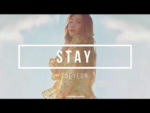 TAEYEON - STAY (Sub Español   Eng Sub   Kanji   Roma) HD