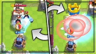 DESTROY A TOWER WITH ONE SPARKY SHOT | x2 DAMAGE GLITCH in Clash Royale!