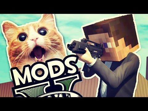 EL LANZA GATOS | GTA V MODS #1