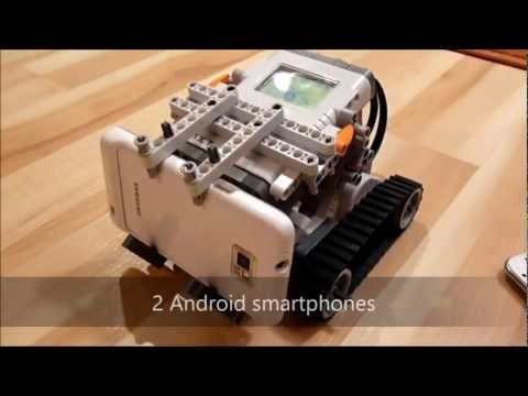LEGO Mindstorms NXT 2.0 CAMERA-BOT (Stream-O-Bot)