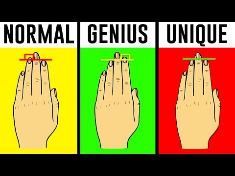 10 Odd Things Your Body Says About You (PERSONALITY TEST)