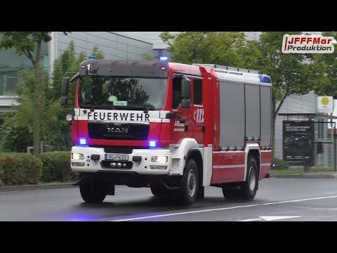 Einsatzfahrten Berufsfeuerwehr Aachen FW 1