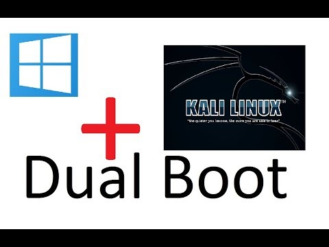 How to dual boot kali linux 2017.1 with windows 10 || tutorial || easy steps 100% working
