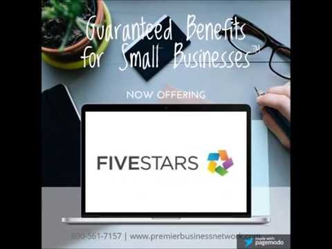 Premier Business Network™ partners with FiveStars