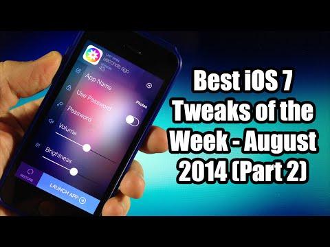 Best iOS 7 Jailbreak Tweaks of the Week - August 2014 (Part 2) Music Videos