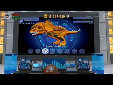 LEGO Jurassic World - Customize | Create Dinosaur [HD]