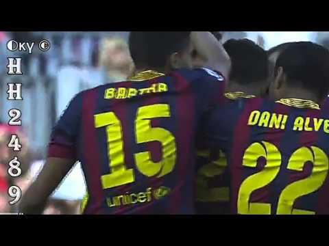 Barcelona vs Getafe 2-2 →GOL ALEXIS Sanchez ← Barcelona 2-2 Getafe ~ Liga BBVA ~ 03-05-2014