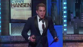 Ben Platt wins Best Leading Actor in a Musical — Tonys 2017