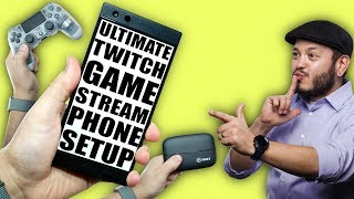 Stream Mobile Games to Twitch! The Ultimate Setup Guide! ReStream, Chat, and Capture Cards!