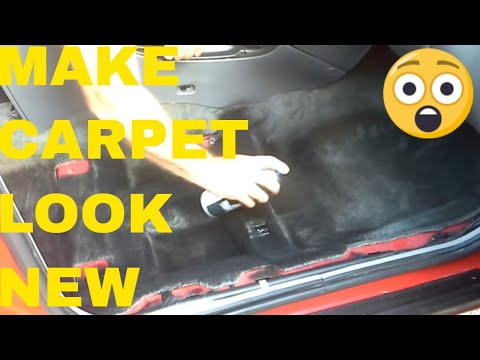 Paint Your Automotive Carpet Like New For $15