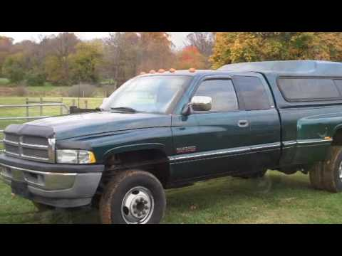 1997 Dodge SLT 3500 Cummins Diesel Video