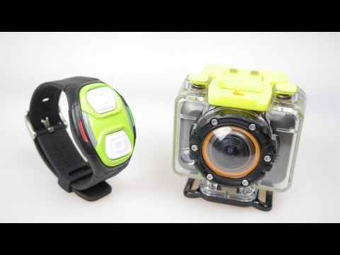 DXG 1080p Sport Action Camera with Wrist Mounted Remote - Review (Non WiFi Version of the Helix)