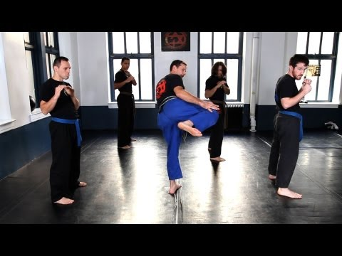 How to Do a Side Kick | Krav Maga Defense Image 1