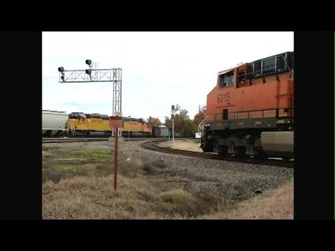 Train-Watching Bald Knob AR 11-9-13 with Railfan Friends! Part 2