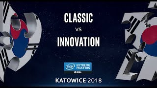 StarCraft 2 - Classic vs. INnoVation (PvT) - IEM Katowice 2018 - Korean Qualifier #1
