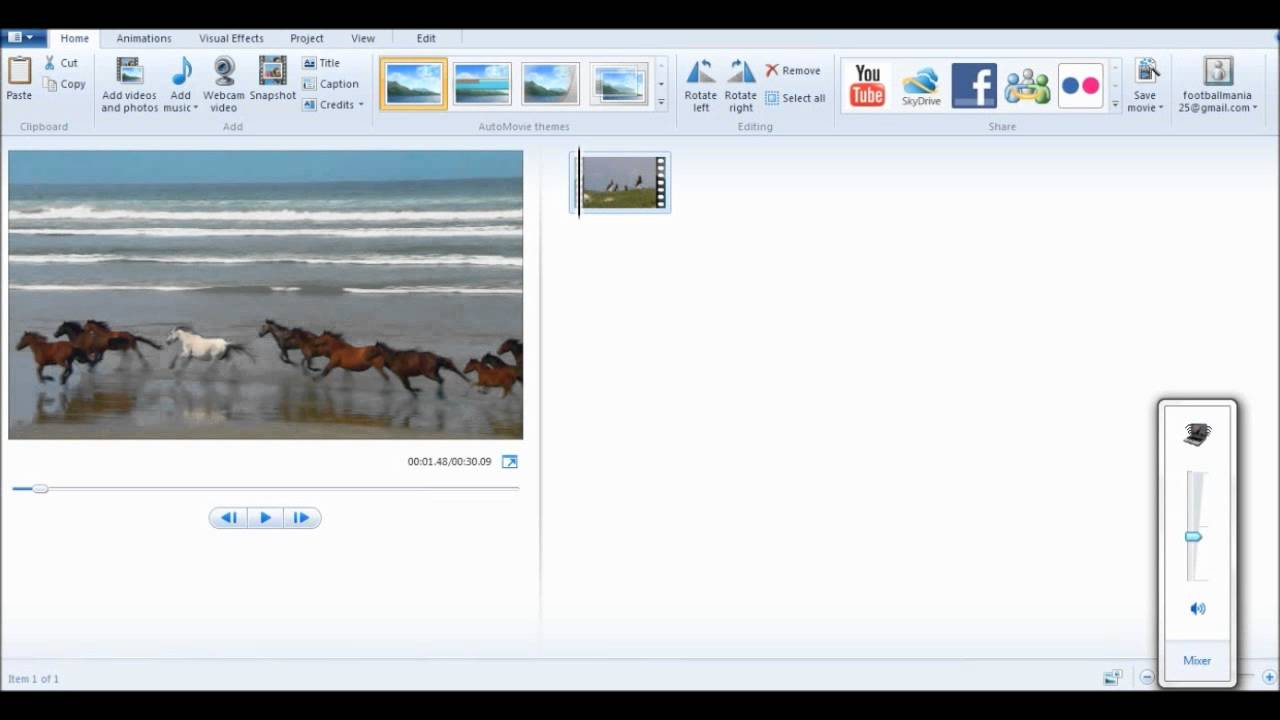 how to use windows movie maker 2018