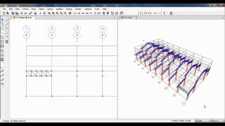 SAP2000-Design of Steel Truss Factory Structure 01/02