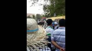 Cận Cảnh CSGT Cần Thơ bắt xe chạy Sân