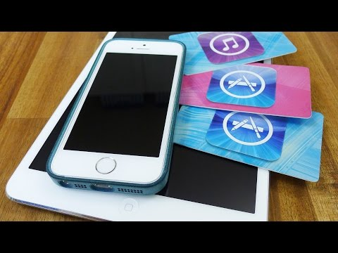 iTunes / App Store Geschenkkarte einlösen, Apple Guthabenkarten aufladen, Apple-ID #TrauDirWasZu