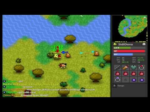 Обзор на наркоманскую игру Realm of the Mad God.