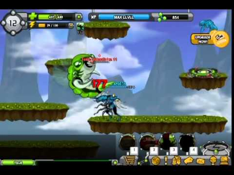 Ben 10 Omniverse rise of heroes - Toxic Vulmoth Lv. 11