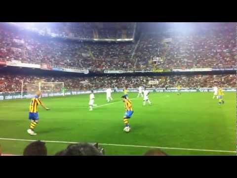 Valencia - Roma 3 - 0 Gol Paco Alcacer