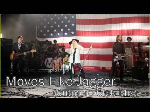 Maroon 5 Feat. Christina Aguilera - Moves Like Jagger Remix (cutmore Club Mix) video