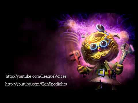 Heimerdinger (Visual Upgrade 2014) Voice - English - League of Legends