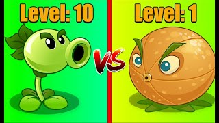 Plants Vs Zombies 2 REPEATER (10) Vs CITRON (1) Free Plants Compare!