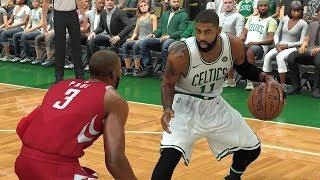 NBA 2K18 Rosters│ Rockets vs Celtics│Kyrie Irving vs James Harden