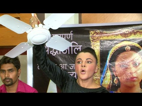 Rakhi Sawant's SHOCKING PUBLICITY STUNT on Prtyusha Banerjee's SUICIDE | Watch FULL VIDEO