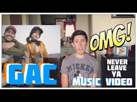 "Gamaliel Audrey Cantika - ""Never Leave Ya"" Music Video (Reaction)"
