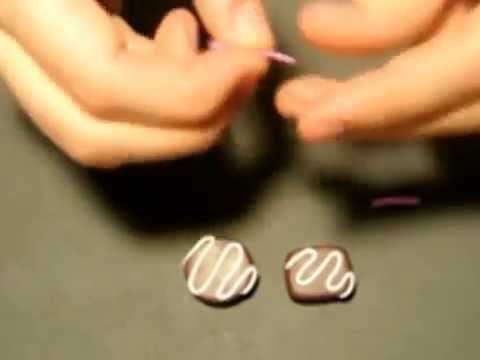 Polymer Clay Tutorial: Chocolate Praline DIY