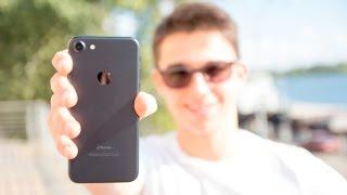 iPhone 7 - обзор и распаковка! Магнит в семёрке!