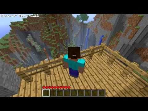 Minecraft mountain modern home